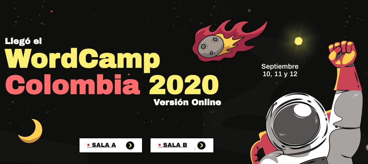 Portada de WordCamp Colombia